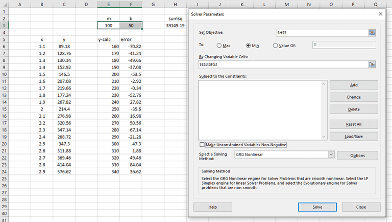 Linear Regression in Excel: 3 Alternative Methods