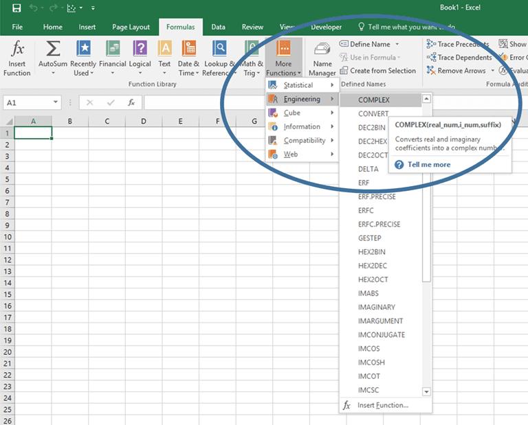 Complex Numbers in Excel | EngineerExcel