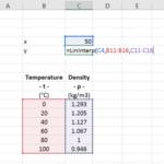 Linear Interpolation VBA Function in Excel