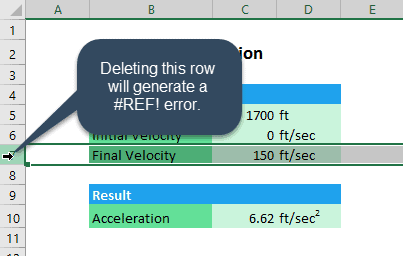 8 Excel Errors and How to Fix Them | EngineerExcel