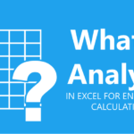 What-If Analysis in Excel for Engineering Calculations