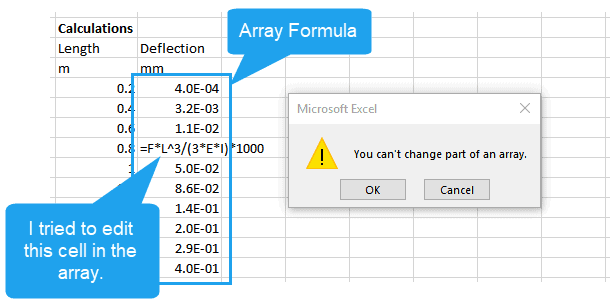 3 Steps to Working with Array Formulas in Excel | EngineerExcel