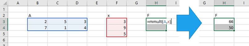 Matrix Multiplication in Excel | EngineerExcel