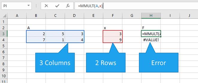 Matrix Multiplication in Excel | EngineerExcel